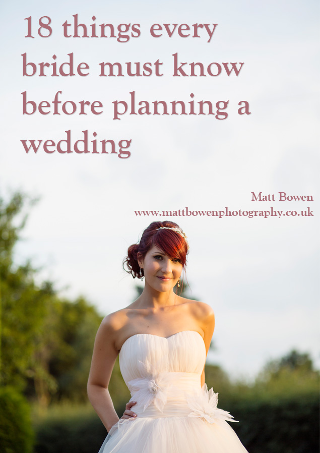 18 things every bride must know before planning a wedding for What to know about planning a wedding