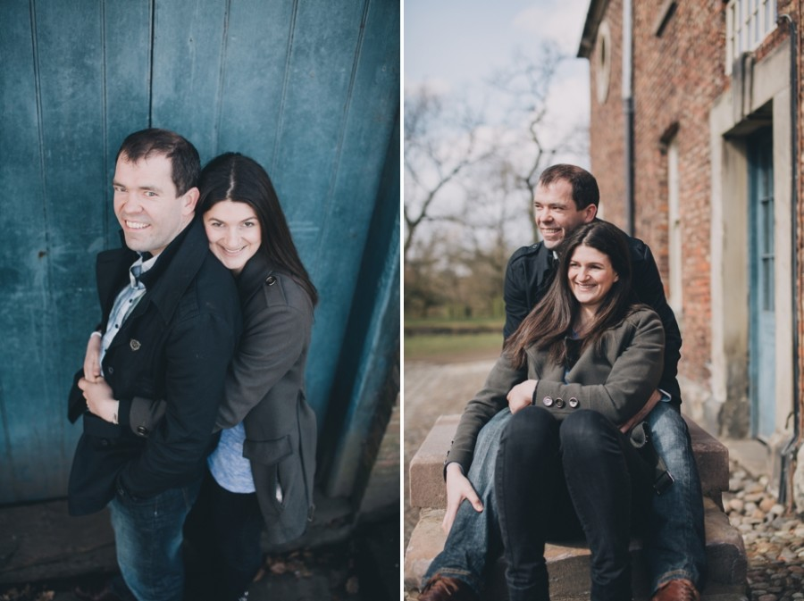 Cheshire Wedding Photographer Dunham Massey Engagement Shoot Nick and Lucy_0005