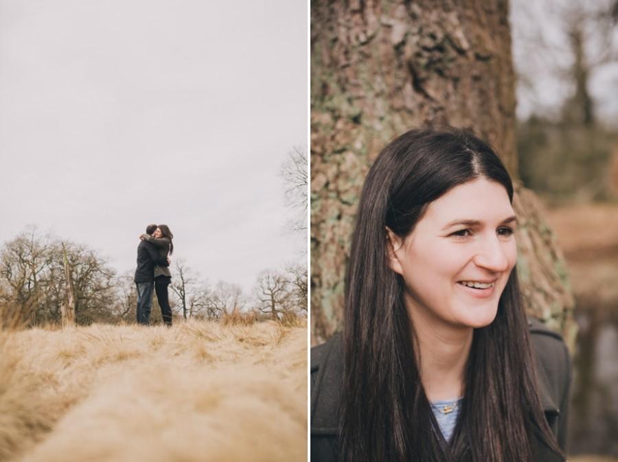 Cheshire Wedding Photographer Dunham Massey Engagement Shoot Nick and Lucy_0013