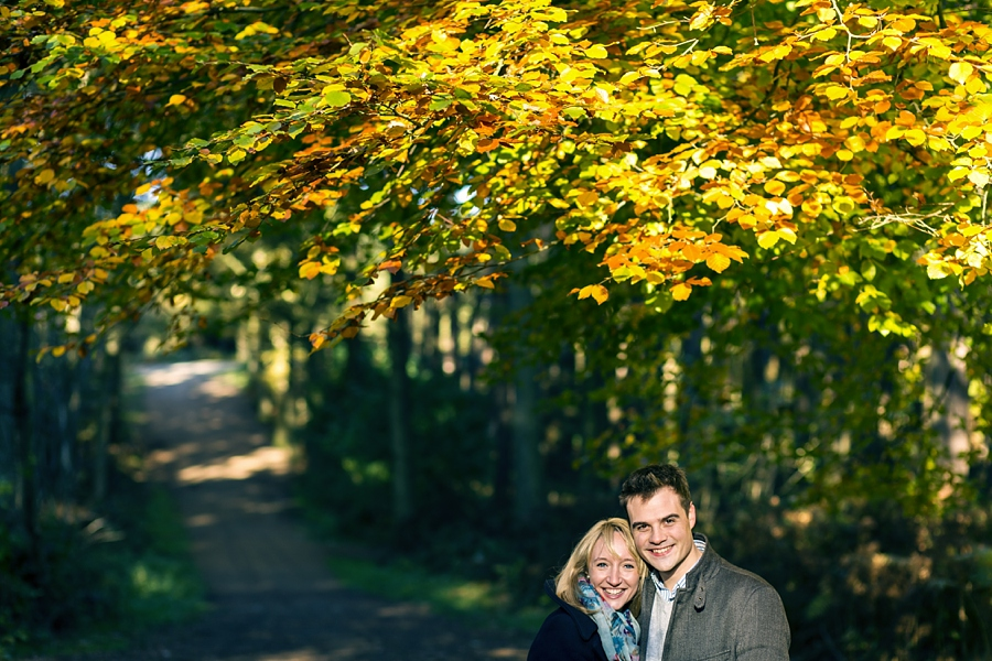 Cheshire Wedding Photographer Delamere Forest engagement shoot Sarah and Adrian_0006