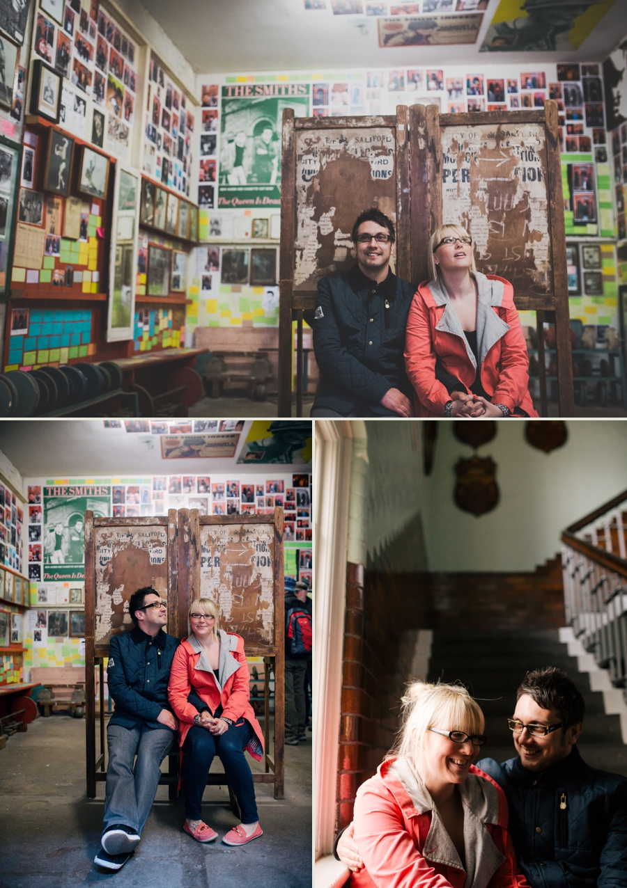 Cheshire Wedding Photographer Manchester Engagement Shoot Salford Lads Club Lauren and Warren_0004