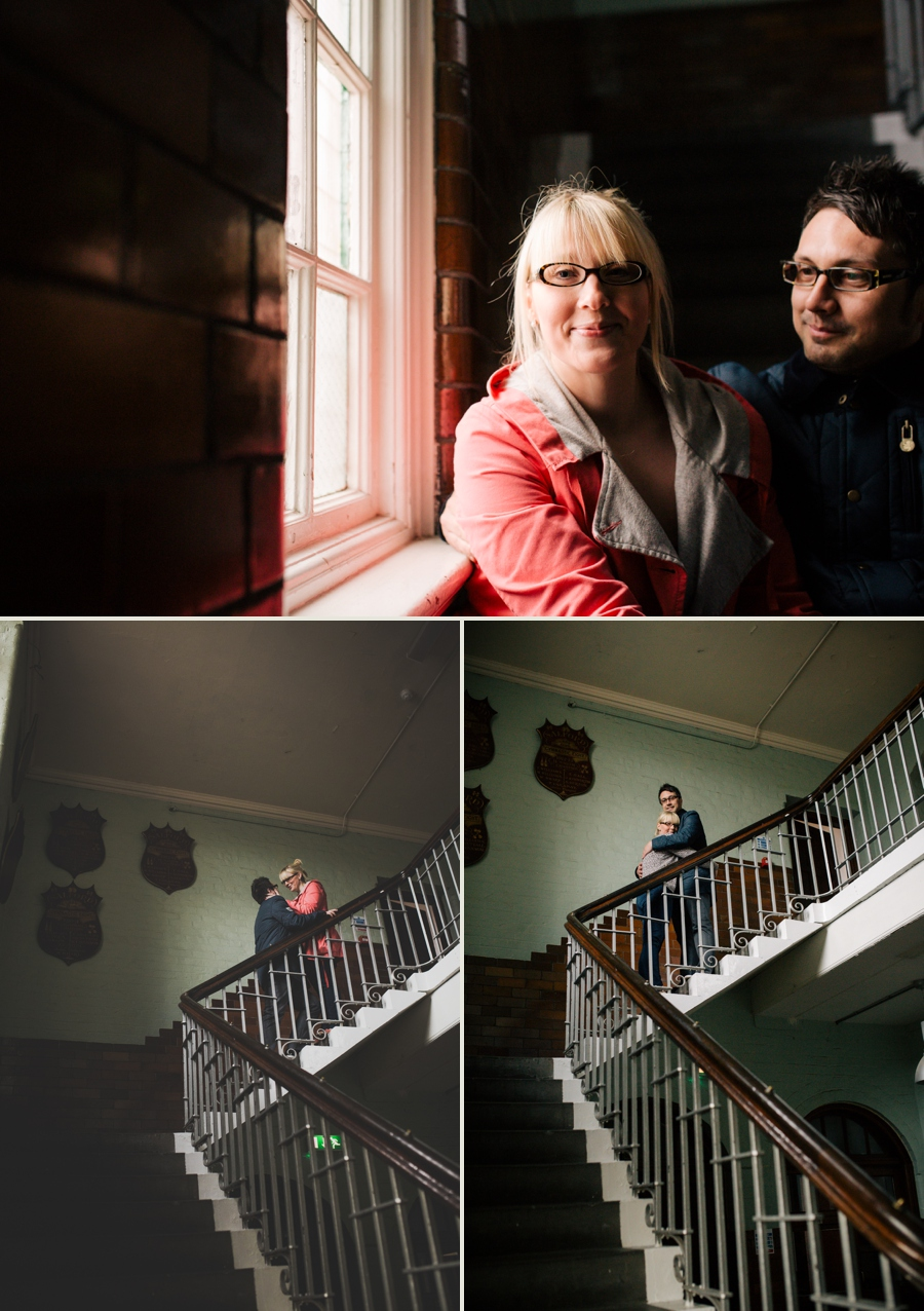 Cheshire Wedding Photographer Manchester Engagement Shoot Salford Lads Club Lauren and Warren_0005