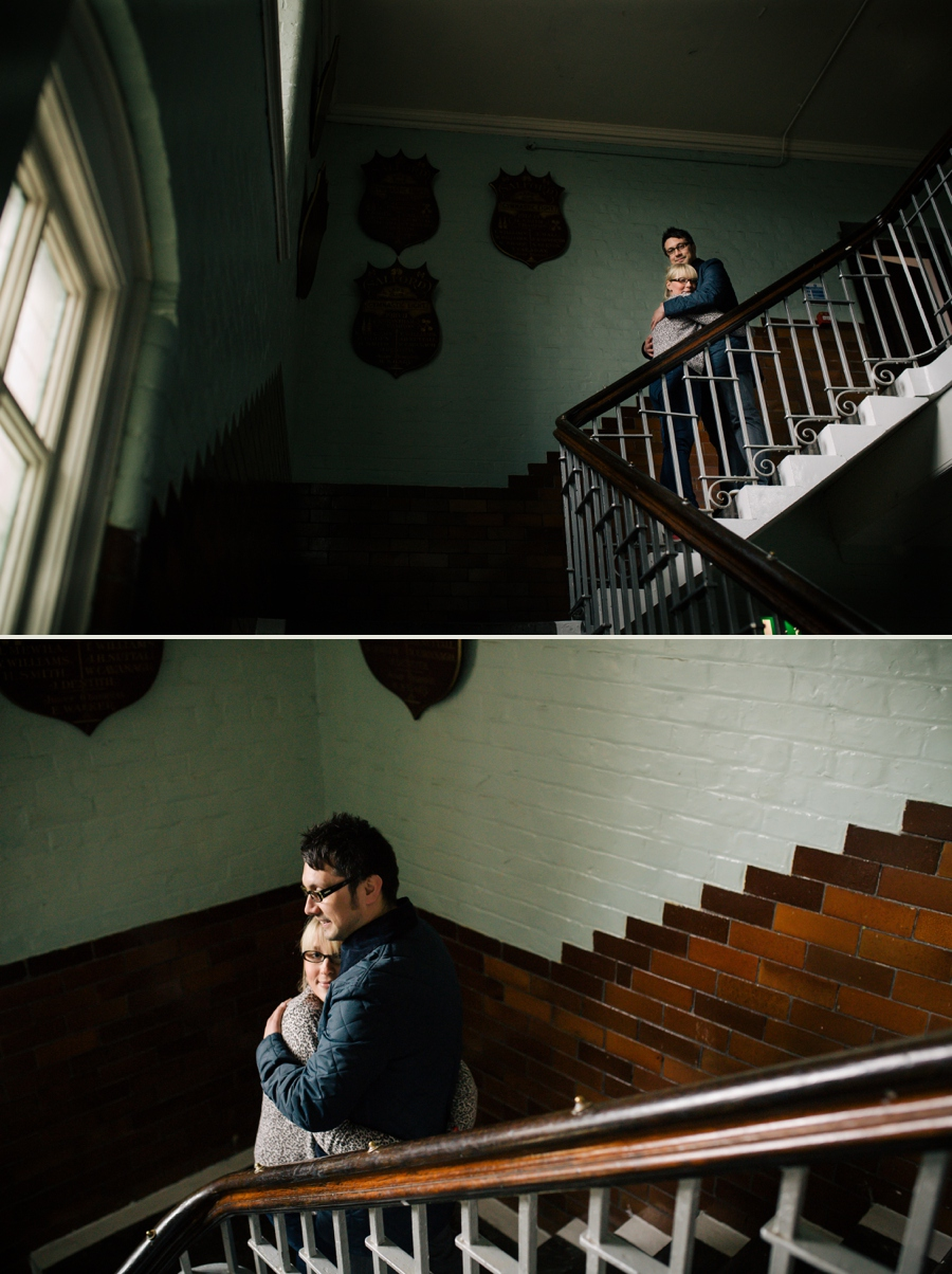 Cheshire Wedding Photographer Manchester Engagement Shoot Salford Lads Club Lauren and Warren_0006