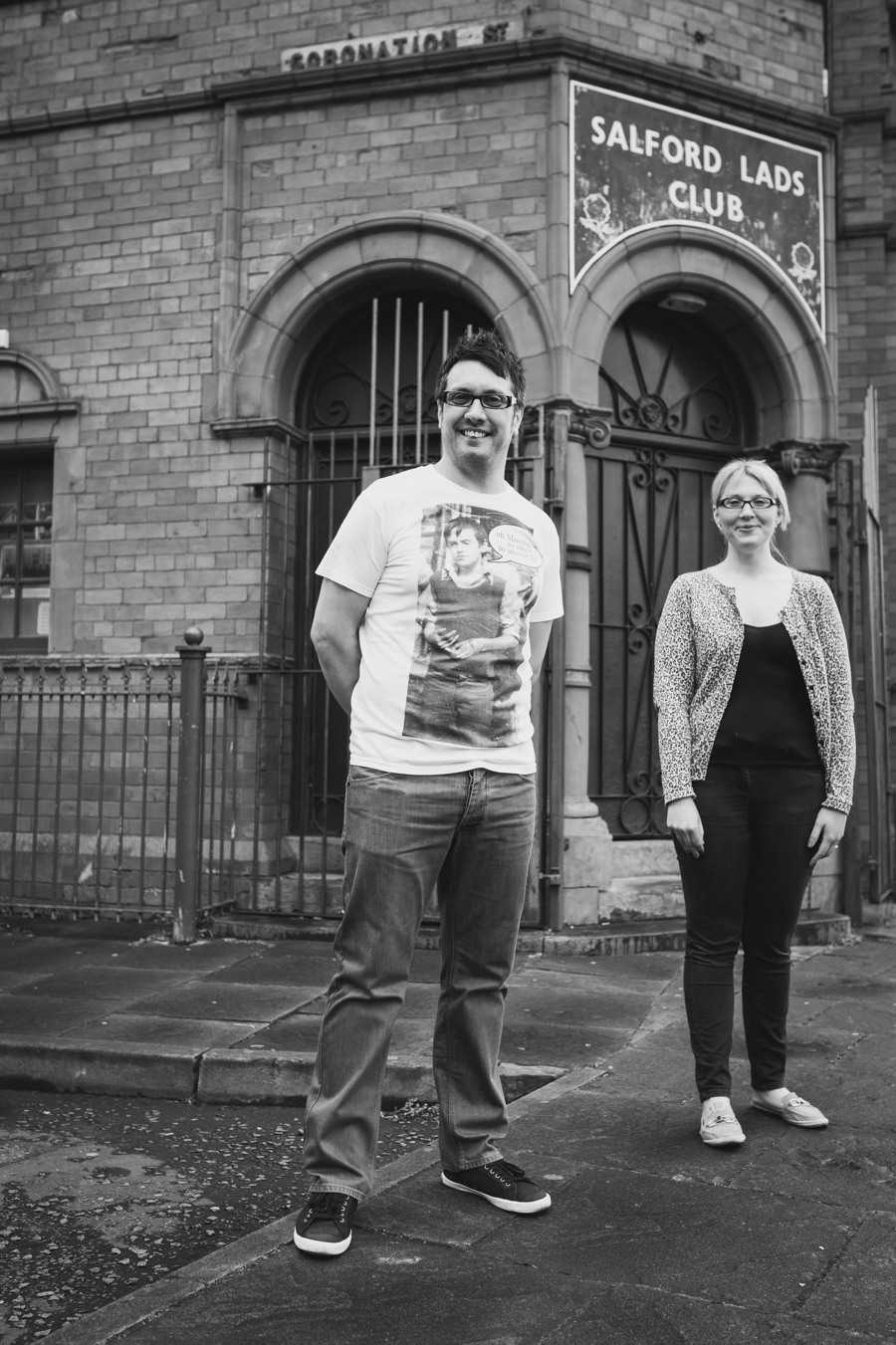 Cheshire Wedding Photographer Manchester Engagement Shoot Salford Lads Club Lauren and Warren_0011