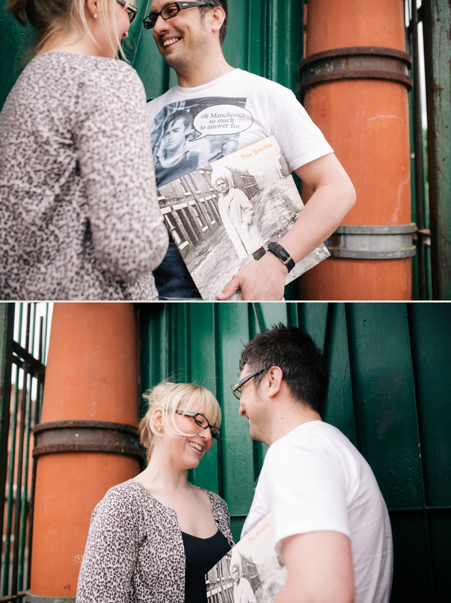 Cheshire Wedding Photographer Manchester Engagement Shoot Salford Lads Club Lauren and Warren_0015