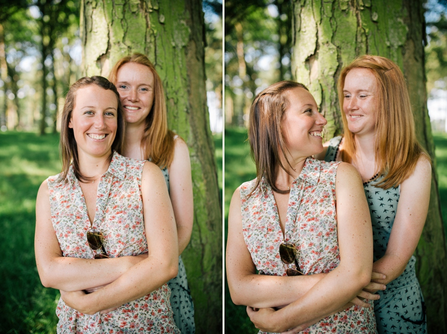 Cheshire Wedding Photographer Tatton Park Engagement Shoot Kris and Stef_0004