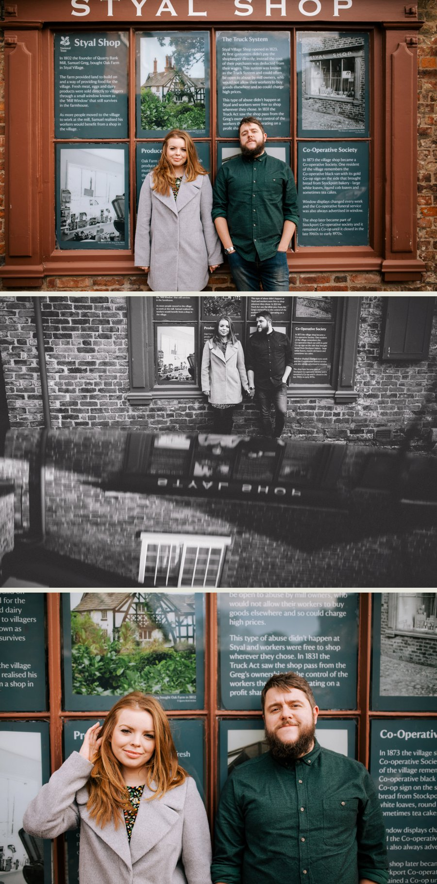 Cheshire Wedding Photographer Styal Mill Engagement Shoot Lucy and Lee_0010