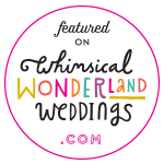 whimsical wonderland weddings featured badge